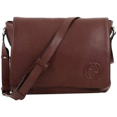 Gucci Soho Flap Messenger Leather Large