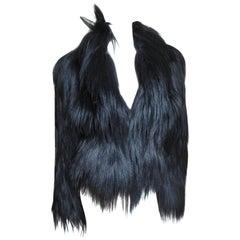 1999 Rare Alexander Mcqueen New Vintage Stunning Fur Jacket