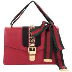 Gucci Sylvie Shoulder Bag Leather