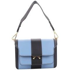 Marni Trunk Accordion Bag Leather Mini