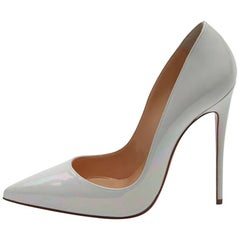 Christian Louboutin New Pearlescent So Kate Evening High Heels Pumps in Box