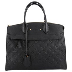 Louis Vuitton Pont Neuf Handbag Monogram Empreinte Leather GM
