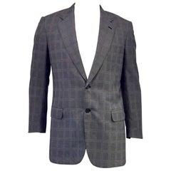 Men's Brioni Wool & Silk Jacket for Maus & Hoffman Sz 42L
