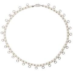 Eddie Borgo Pierced Faux Pearl Long Necklace