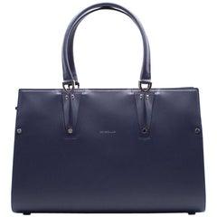 Longchamp Paris Premier Large Tote Bag In Navy
