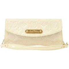 Louis Vuitton Sunset Boulevard Perle Vernis Leather Evening Bag