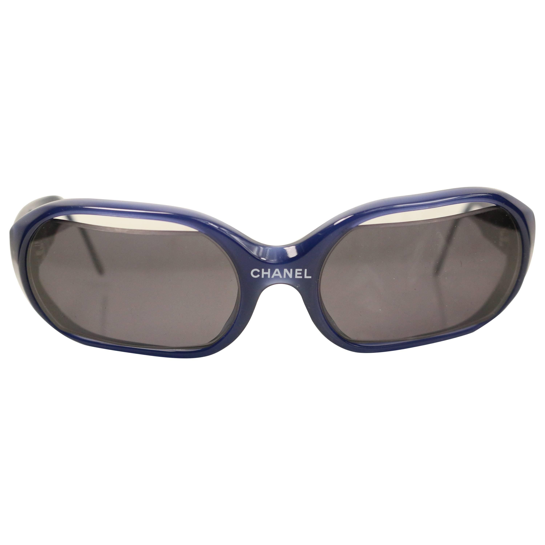 Chanel Navy Sunglasses