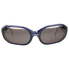 Chanel Navy Sunglasses