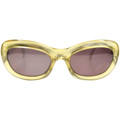 Christian Dior Gold and Silver Sunglasses