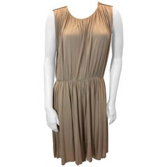 Chloe Taupe Longline Romper with Open Back