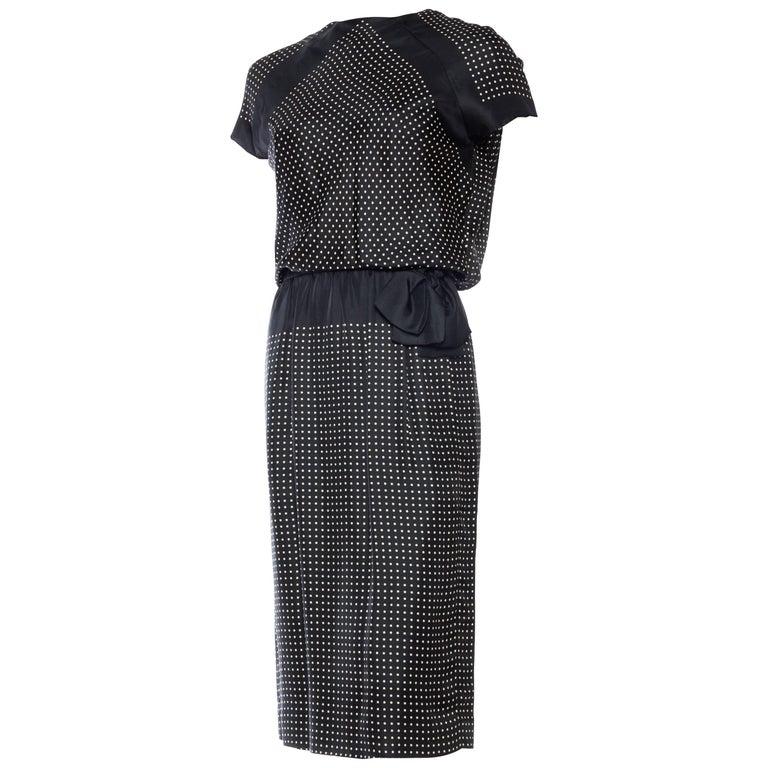 Very Early Geoffrey Beene 1960s Silk Dress