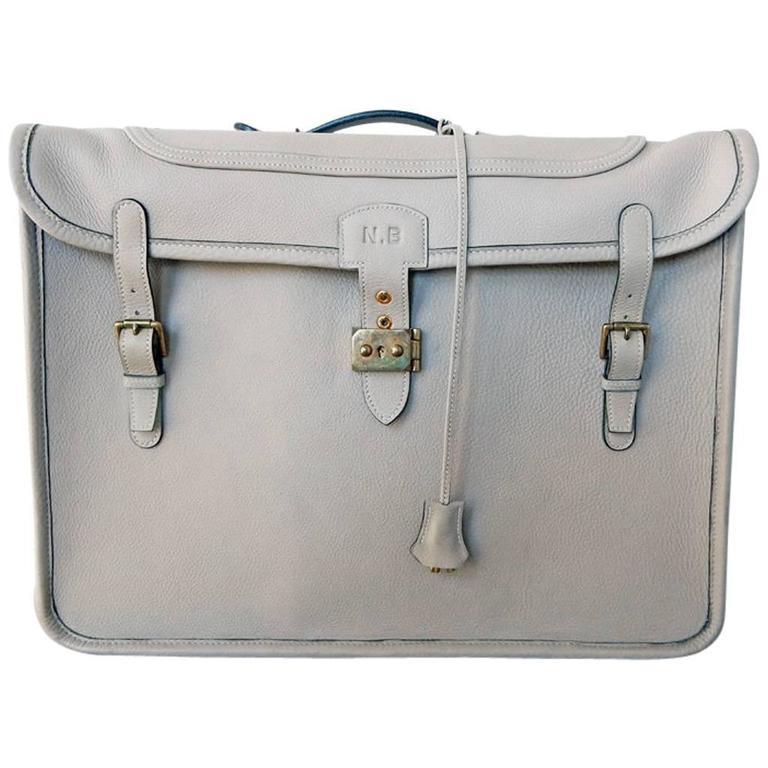 Hermes Custom Made-to-Order Shoe Travel Case Carrier Bag - Very Rare! For Sale