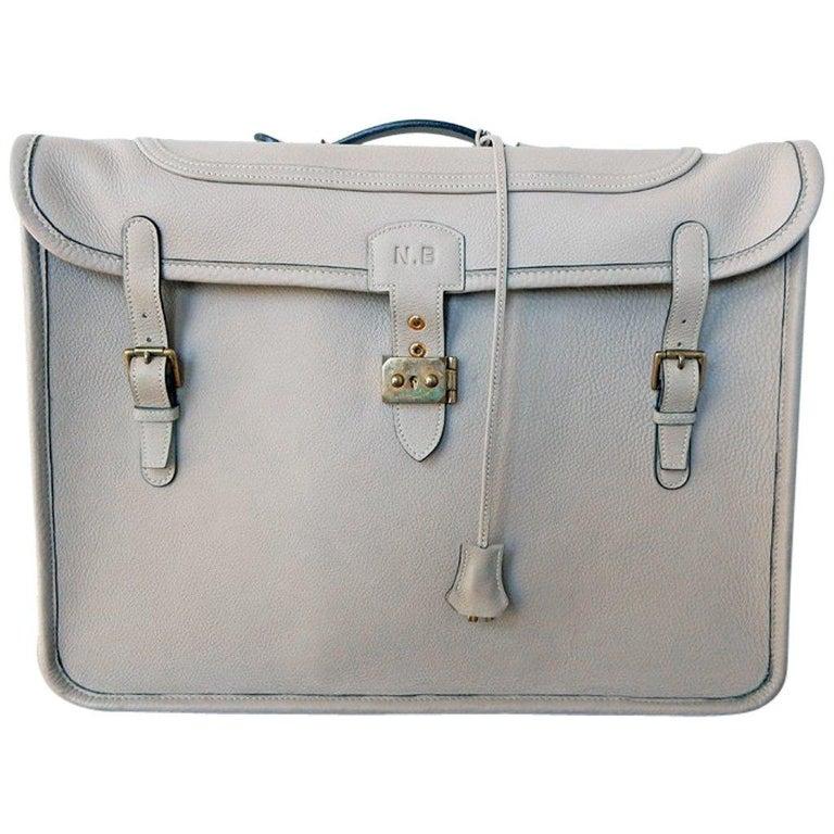 9c71a788edd Hermes Custom Made-to-Order Shoe Travel Case Carrier Bag - Very Rare!