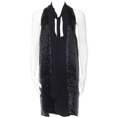 Fully Beaded Giorgio Armani Silk Tunic Dress