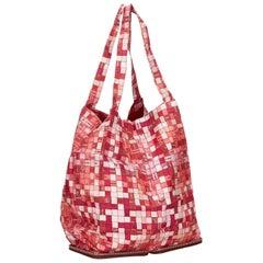 Hermes Multicolour Printed Canvas Silky Pop Tote Bag
