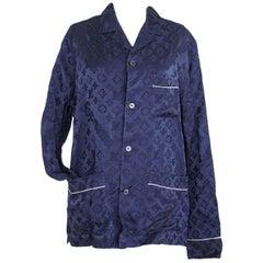 Louis Vuitton X Supreme Pyjama Set Navy Celine Dion Paris Haute Couture M