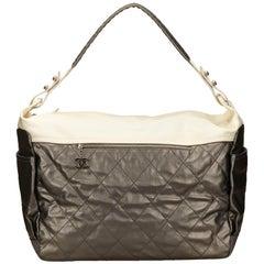 Chanel Silver Paris Biarritz Duffel Bag