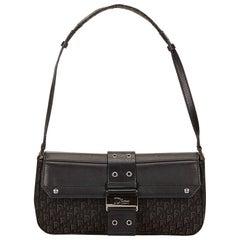 Dior Black Jacquard Shoulder Bag