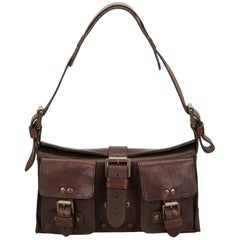 Mulberry Brown Leather Mini Roxanne