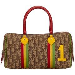 Dior Brown PVC Rasta Diorrisimo Handbag
