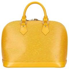 Louis Vuitton Yellow Epi Alma PM