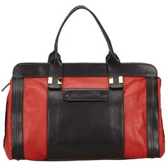 Chloe Red Leather Alice