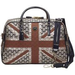 ANYA HINDMARCH Black Jacquard Duffel Bag