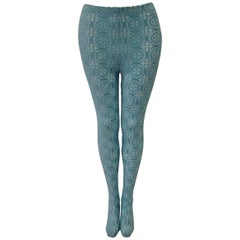 Istante By Gianni Versace Coup De Velours Leggings