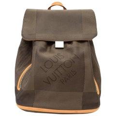 Louis Vuitton Pioneer Terre Damier Geant Canvas Backpack Bag