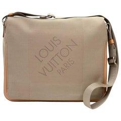 Louis Vuitton Messager Gray Damier Geant Canvas Messenger Laptop Bag