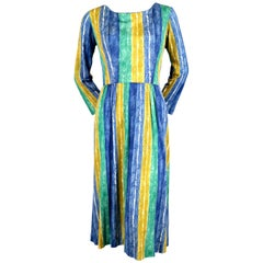 1960's EMILIO PUCCI printed silk jersey dress