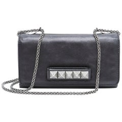 VALENTINOi Bag, model 'Va Va Voom'  in Very Soft Black Lamb Leather