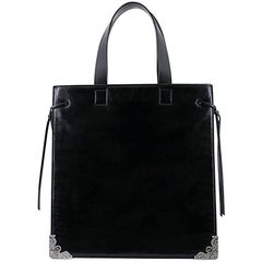 Alexander McQueen Black Tote Bag