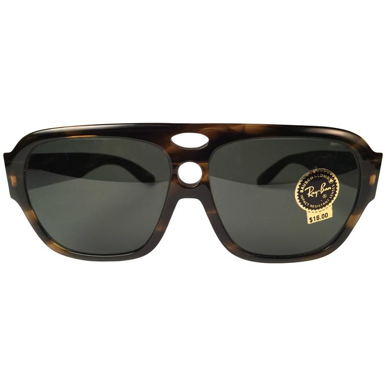 c3ad8081ca New Vintage Ray Ban B L Corrigan II Tortoise G15 Grey Lenses Sunglasses USA  For Sale