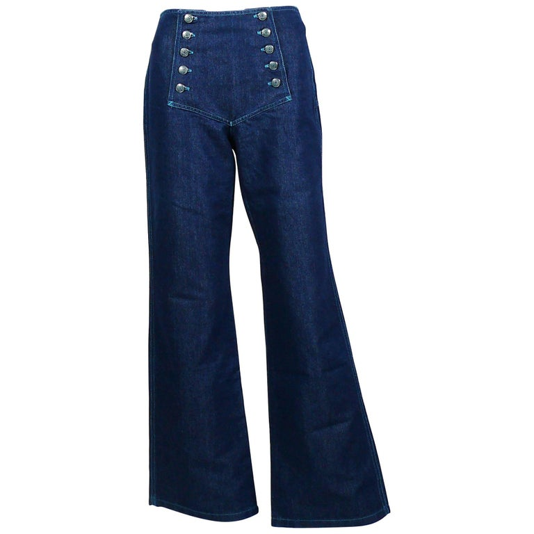 Jean Paul Gaultier Vintage Iconic Sailor Jeans