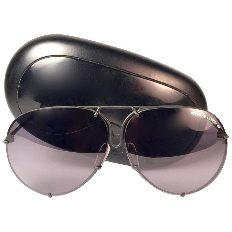 11fddb1c1a4 New Vintage Porsche Design By Carrera 5623 Black Matte Large Sunglasses  Austria For Sale