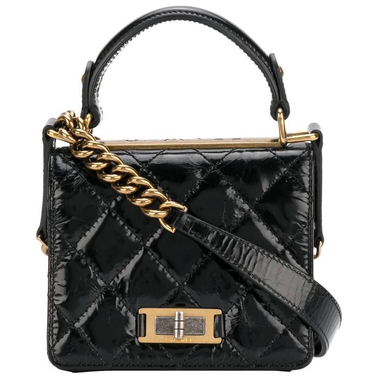 c99338512ea5 Chanel Vintage Black Mini Shoulder Bag For Sale at 1stdibs