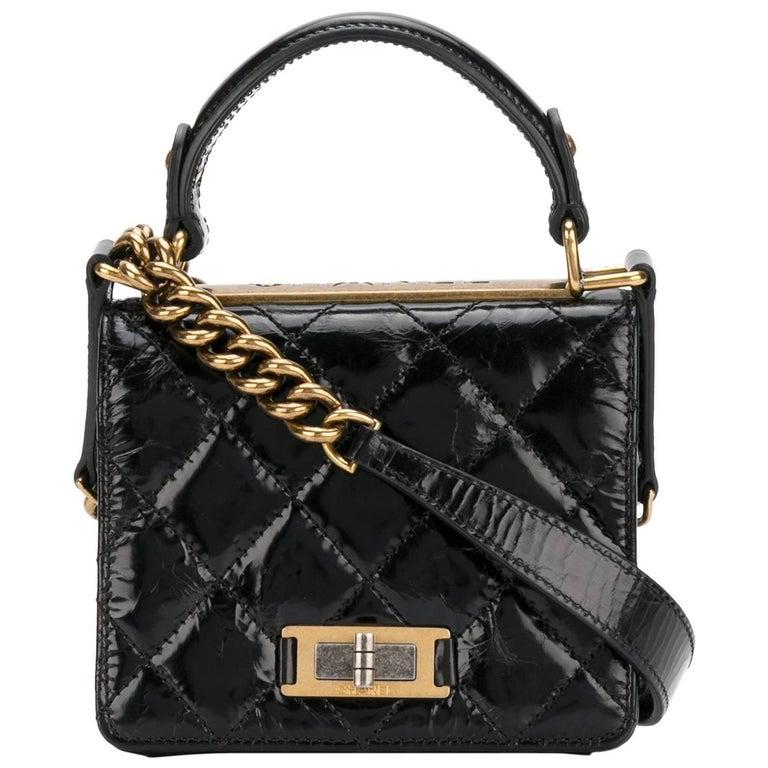 Chanel Vintage Black Mini Shoulder Bag