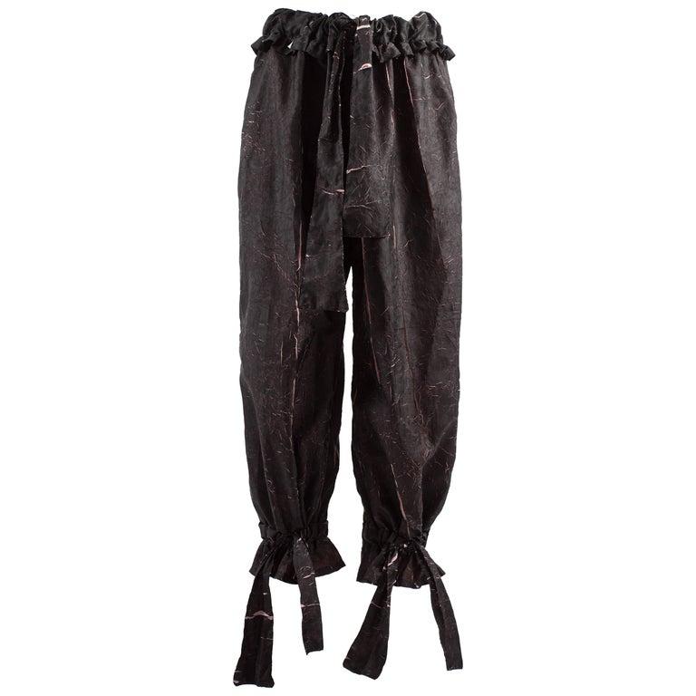 BodyMap 1980s crinkled track pants