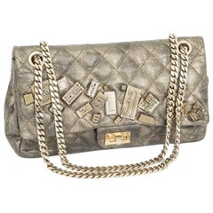Limited Serie CHANEL Double Flap Bag in Bronze Quilted Leather