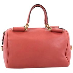 Dolce & Gabbana Miss Sicily Bowler Bag Leather Medium