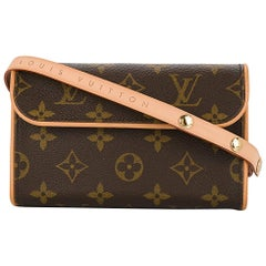 Louis Vuitton Monogram Canvas Men's Women's Fanny Pack Waist Belt Bag