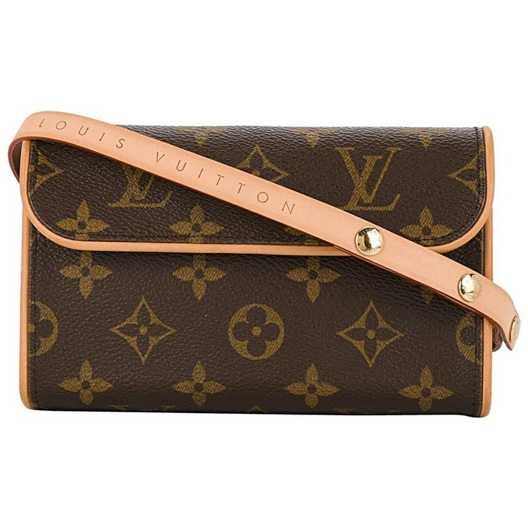 Louis Vuitton Monogram Men's Women's Fanny Pack Waist Belt Bag For Sale