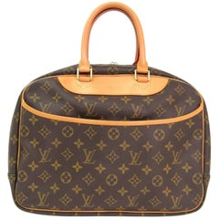 Louis Vuitton Monogram Men's Women's Carryall Travel Top Handle Satchel Bag