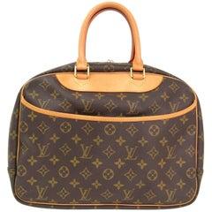 Louis Vuitton Monogram Men's Women's Carryall Travel Top Handle Satchel Bag