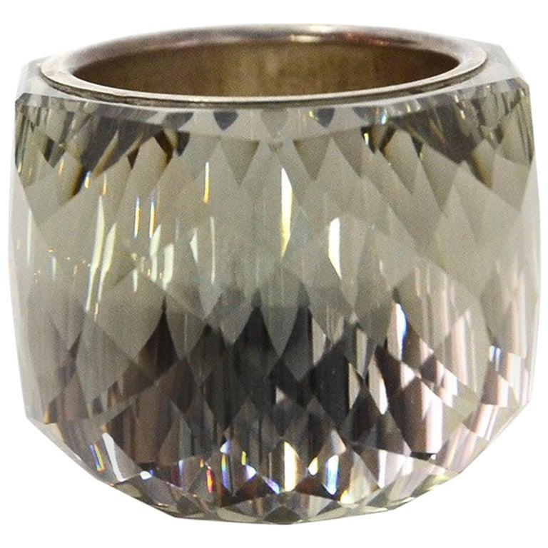 0f78cb085 Swarovski Crystal Nirvana Ring Sz 8 Eu58 At 1stdibs