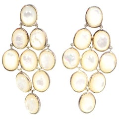 Ippolita MOP Cascade Pierced Earrings w/DB rt. $995