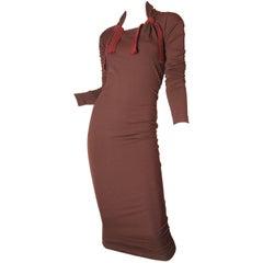 1990s Romeo Gigli Tie Dress