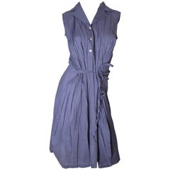 Issey Miyake Pleats Please Shirt Dress