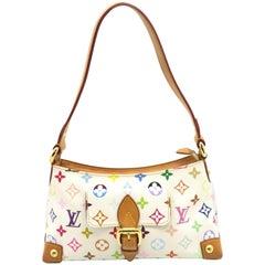 Louis Vuitton Eliza White Monogram Multicolore Shoulder Bag